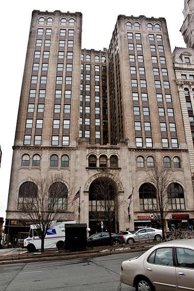 State Street & Capitol, Albany, New York Circa 1900. : Albany  State Street Albany Interior